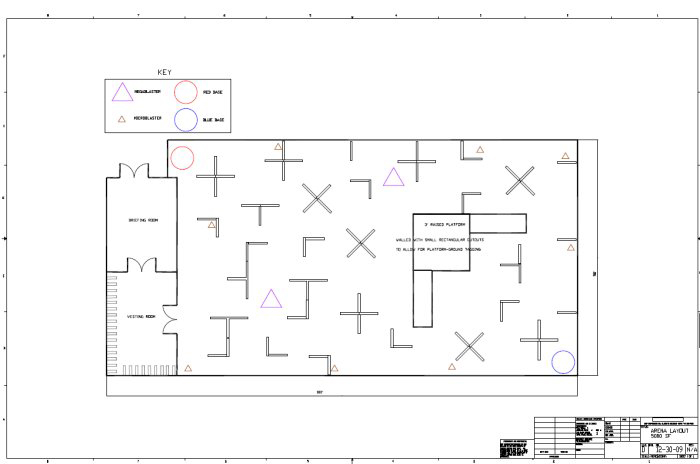 Laser Tag Floor Plan: Construction And Theming